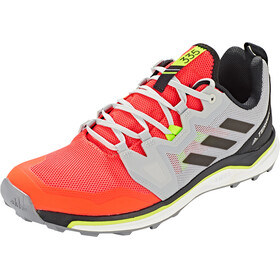 adidas TERREX Agravic Zapatillas Trail Running Hombre, solar red/core black/grey two